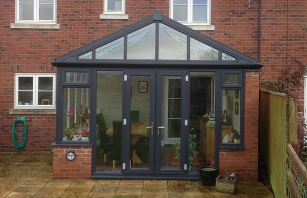 L Shaped And Gable Conservatories And Windows In